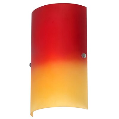 Dainolite 1 Light Metal Wall Sconce