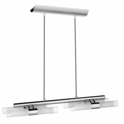 Dainolite 8 Light Horizontal Pendant