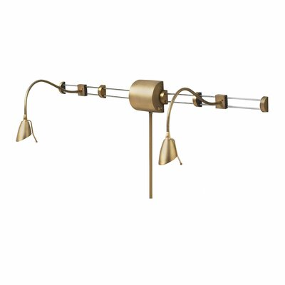 Dainolite Adjustable Reading Over The Bed Gooseneck Wall Lamp Reviews
