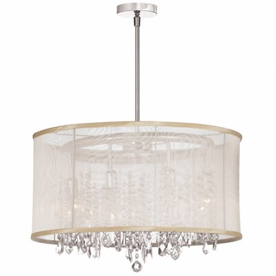 Dainolite 8 Light Crystal Chandelier