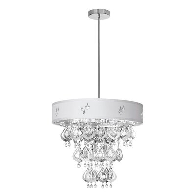 Dainolite 5 Light Crystal Chandelier