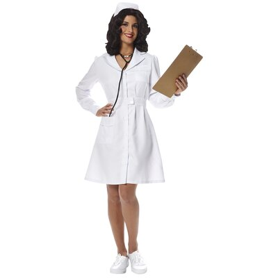 Franco Vintage Nurse Costume (Small)