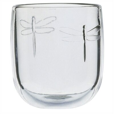 LaRochere 9.5 Ounce Water Glass in Dragonfly Motif (Set of 6)