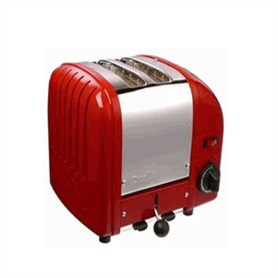 Dualit 2 Slice Toaster (Red)