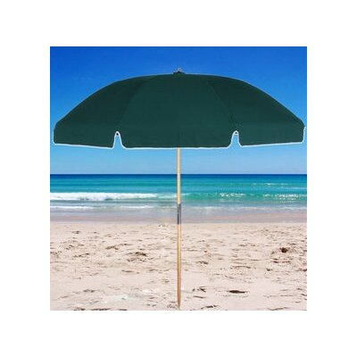 Frankford Umbrellas 7.5' Fiberglass Beach Umbrella with Carry Bag