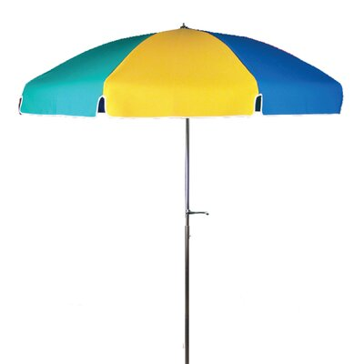 Frankford Umbrellas 7.5' Steel Marine Patio Umbrella with Crank and Tilt