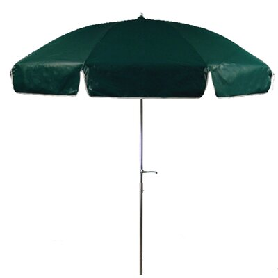 Frankford Umbrellas 7.5' Steel Heavy Patio Umbrella with Crank and Tilt
