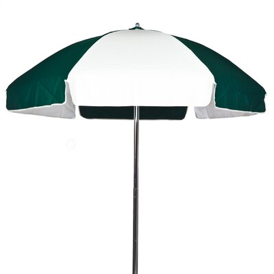 Frankford Umbrellas 6.5' Striped Lifeguard Umbrella
