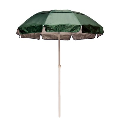 6' Solar Reflective Beach Umbrella