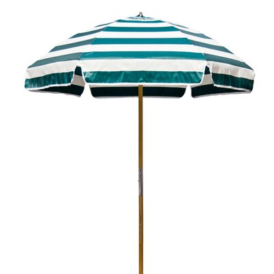 Frankford Umbrellas 6.5' Shade Star Striped Beach Umbrella