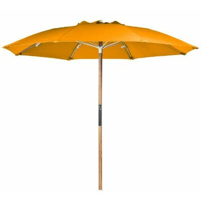 7.5' Ash Wood Center Pole Beach Umbrella