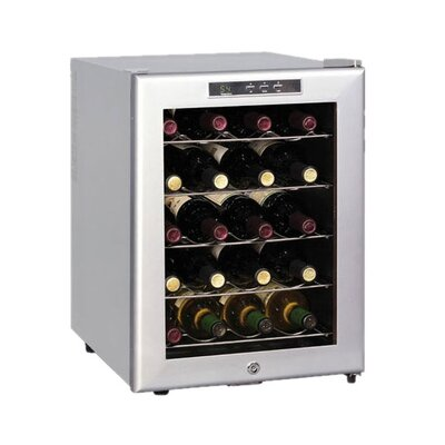 Sunpentown 20 Bottle Single Zone Thermoelectric Wine Refrigerator