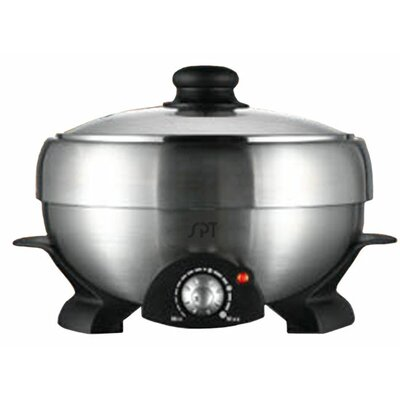 Sunpentown Multi-Cooker Shabu-Shabu and Grill with Lid