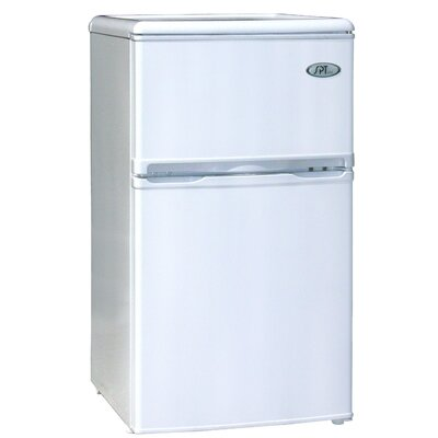 SPT Double Door Refrigerator with Energy Star in White