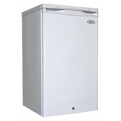 2.8 cu.ft. Upright Freezer (White)