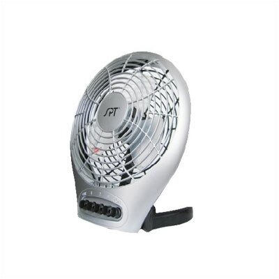 "SPT 7"" Silent Electric Table Fan w/Ionizer"