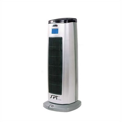 Sunpentown 1,500 Watt Ceramic Tower Space Heater with Lonizer