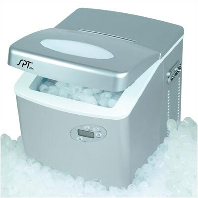 Sunpentown Portable Ice Maker w/LCD