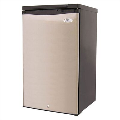 3.1 cu. ft. Upright Freezer (Stainless)
