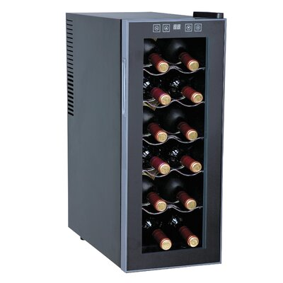 Sunpentown Slim 12-Bottle Wine Refrigerator