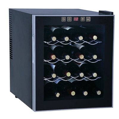 Sunpentown 16 Bottle Single Zone Thermoelectric Wine Refrigerator