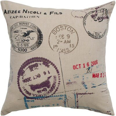 Rizzy Home Seal Pillow