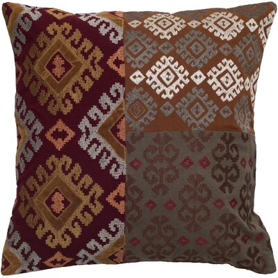 Rizzy Home Patchwork Pillow