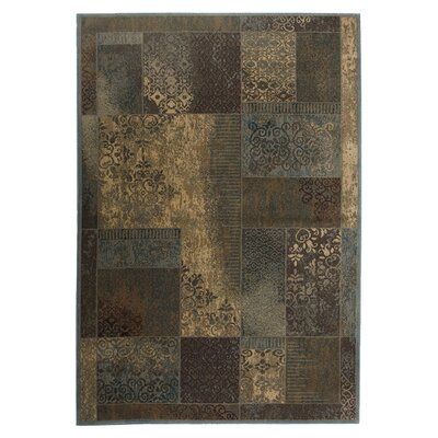 <strong>Rizzy Home</strong> Bellevue Blue/Tan Rug