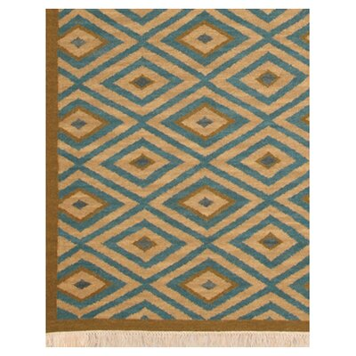 Rizzy Home Swing Blue/Tan Rug