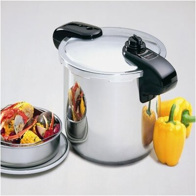 Presto 8-Quart Stainless Steel Pressure Cooker