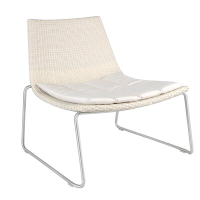 Dynamic Wicker Lounge Side Chair