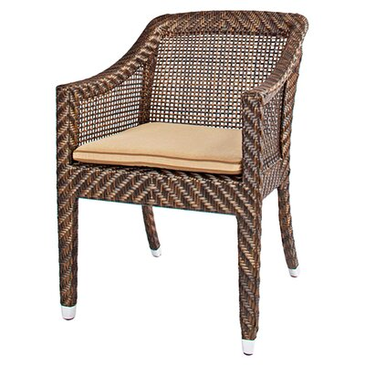 <strong>Smith Barnett</strong> Hawaii Dining Arm Chair with Cushion