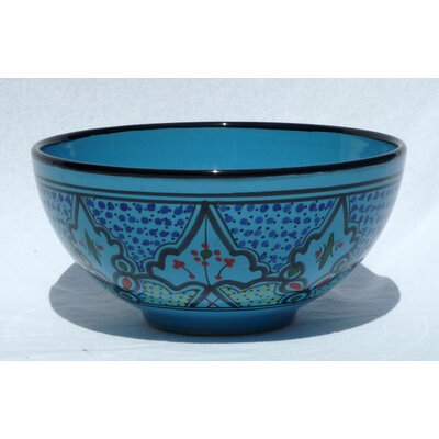 "Le Souk Ceramique Sabrine Design 8"" Serving Bowl (Set of 2)"