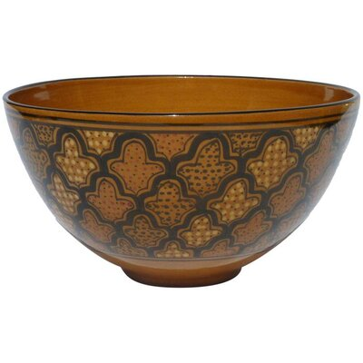 "Le Souk Ceramique Honey Design 12"" Serving Bowl"