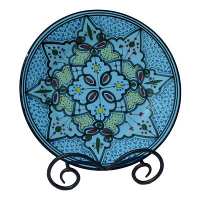 Le Souk Ceramique Sabrine Design Dinner Plates (Set of 4)