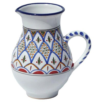 Le Souk Ceramique Tabarka Design Large Pitcher