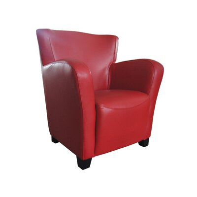 Moe's Home Collection Bicast Leather Chair