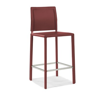 Stallo Counter Stool in Dark Red