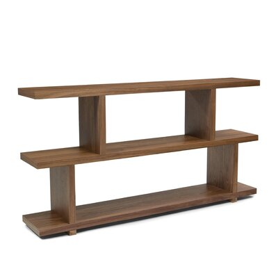 Moe's Home Collection Miri Small Shelf in Walnut