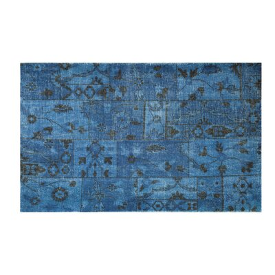 Moe's Home Collection Puzzle Blue Rug