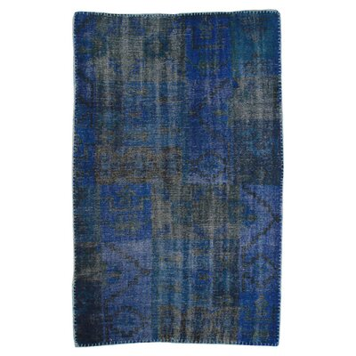 Moe's Home Collection Stitch Royal Blue Rug