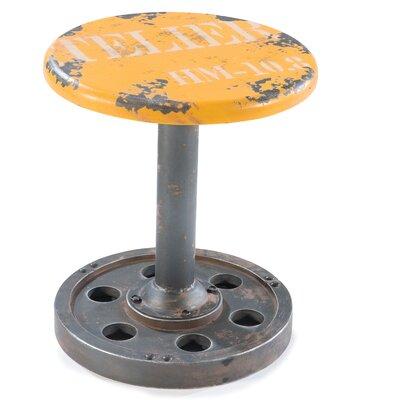 "Moe's Home Collection Wheel 17.3"" Bar Stool"