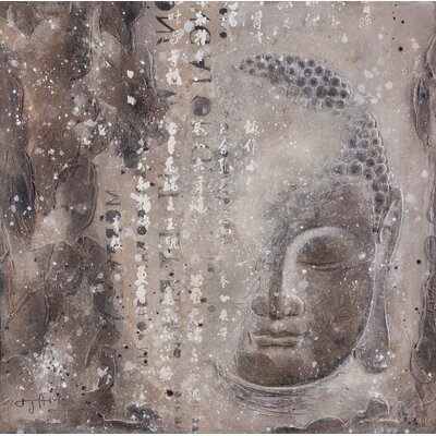 Moe's Home Collection Subtle Buddha I Wall Art