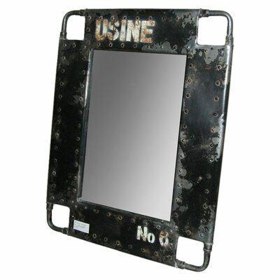 <strong>Moe's Home Collection</strong> Iron Distressed Mirror