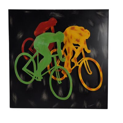 Moe's Home Collection Metal Bikers Wall Decor