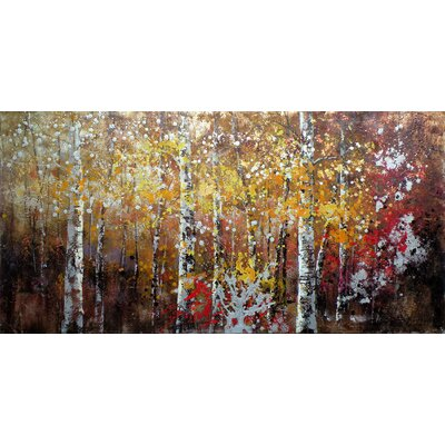 Moe's Home Collection Autumn Painting Print on Canvas