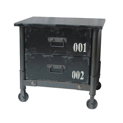 Moe's Home Collection Soho 2 Drawer Cabinet