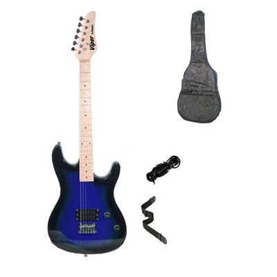 Blueburst Viper Electric Guitar