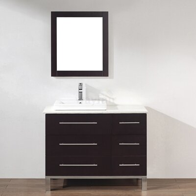 "Bauhaus Bath Kinsa 42"" Single Bathroom Vanity"