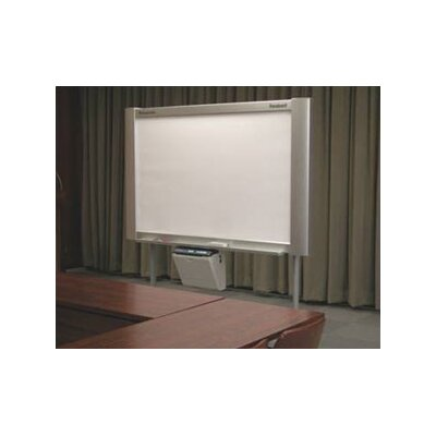 Panasonic Whiteboards 4-Panel Electronic White Board with Projector Panel and Integrated Plain Paper Printer